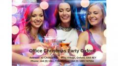 Christmas Office Party Oxford - Shared & Exclusive Offi