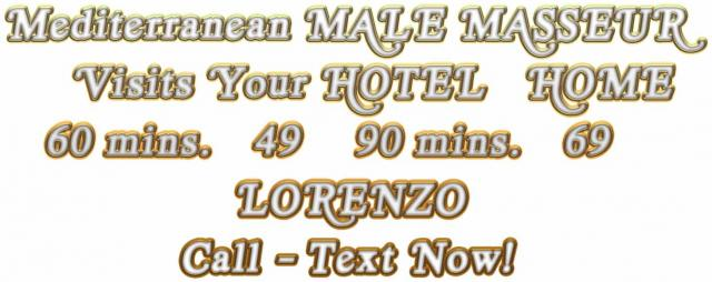 MASSAGE IN LONDON - MALE MASSEUR FOR MEN - OUTCALL 3 Image