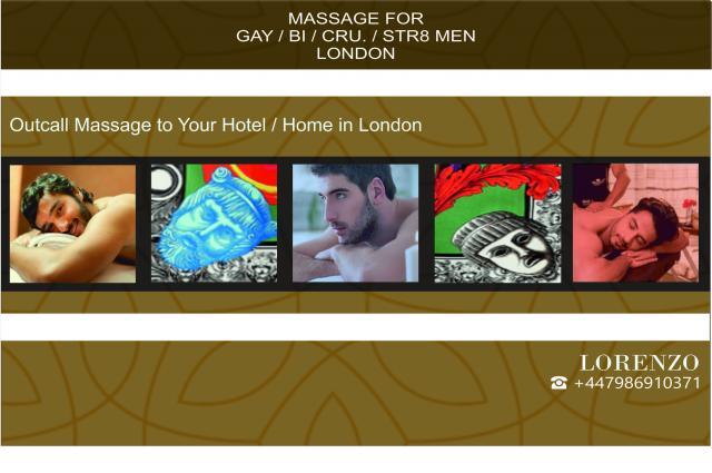 MALE MASSAGE  -  FOR MEN - GAY BI STR MEN -HOTEL HOME 4 Image