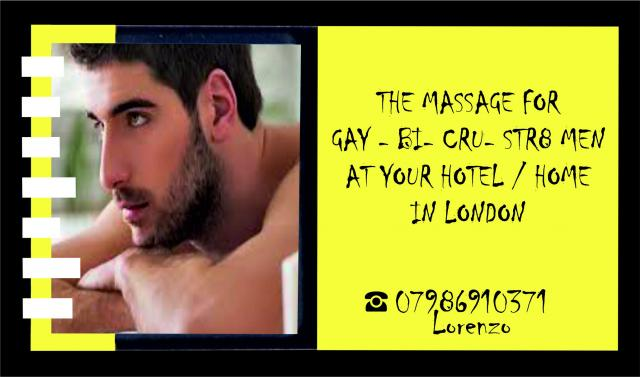 MASSAGE by MALE Masseur For MEN OUT-CALL to Your HOTEL 3 Image