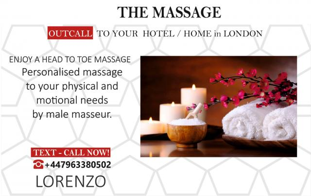 FULL-BODY MASSAGE FOR GAY-BI-STR8-CRU. OUT-CALL London 5 Image