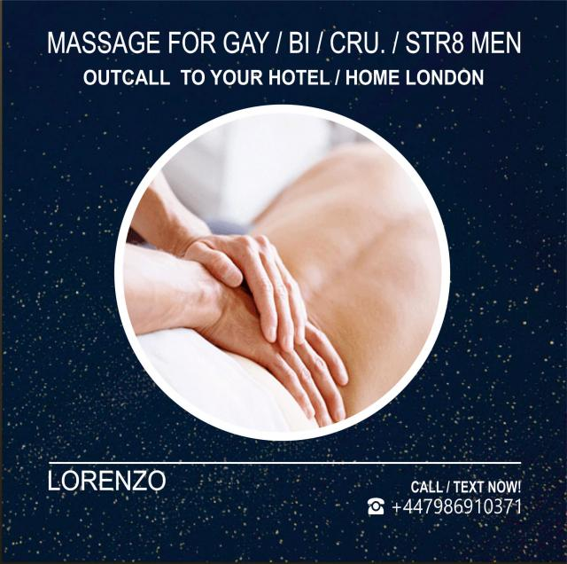 MASSAGE BY MALE MASSEUR for MEN at Your HOTEL HOME 4 Image