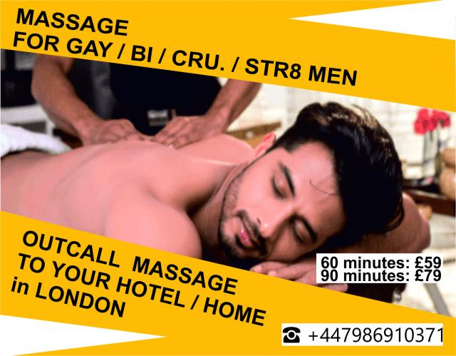 MASSAGE FOR MEN gay-bi-srt8 - out call to HOTEL HOME 4 Image