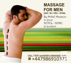 MASSAGE FOR GAY-BI-STR MEN BY MALE MASSEUR LONDON
