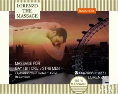 MASSAGE by Young MALE MASSEUR for GAY-BI-STR8 MEN