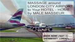 Massage London City Airport - For Men By Male Ma