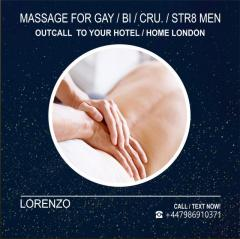 FULL-BODY MASSAGE FOR GAY-BI-STR8-CRU. OUT-CALL London