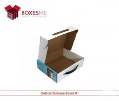 Get your Cardboard Suitcase Boxes from us in the USA