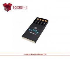 Make your life easy with our Pre Roll Packaging