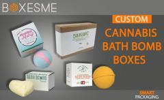 We provide High-Quality Cannabis Bath Bomb Boxes