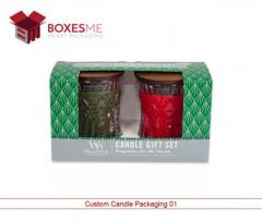 Get your Luxury Candle Boxes Wholesale from us in the U