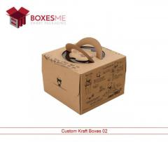 Get your Custom Kraft Boxes from us in the UK