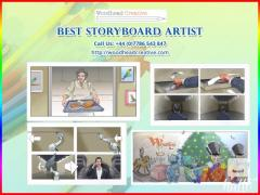 Best Storyboard Artist At Woodhead Creative, Lon