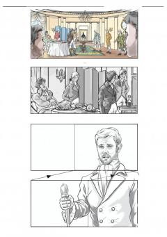 The Storyboard Artist- Famous in London, UK