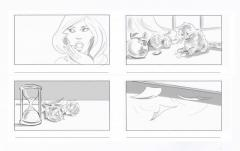 Freelance Storyboard Artist in London Max Woodhead, Wo
