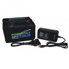 12v 22Ah Power Pack Lithium inc Charger for Sale