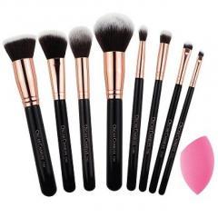 Oscar Charles 8 Piece Essential Makeup Brush Set