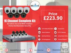 16 Channel CCTV Security Cameras in UK