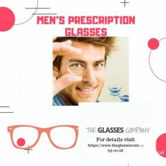 Mens prescription glasses By The Glasses Company