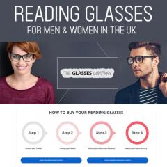 Reading Glasses For Men & Women In The UK