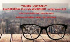 Orders Over 25 From The Glasses Company  & Get A