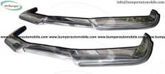Volvo P1800 bumpers 1963-1973 stainless steel