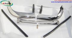 BMW 2800 CS bumper 1968-1975 in stainless steel