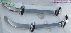 Saab 96 bumper 1965 to 1970 by stainless steel