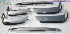 Volvo P1800 SES bumper 1963-1973 in stainless steel