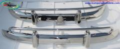 Volvo PV 544 US type bumper in stainless steel