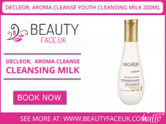 DECLEOR, AROMA CLEANSE YOUTH CLEANSING MILK 200ML