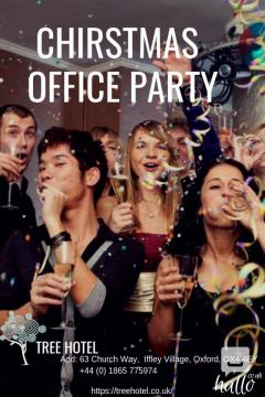 christmas office party oxford