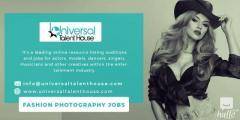 Fashion Photography Jobs