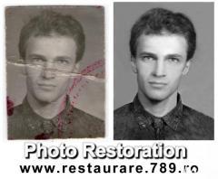 Photo restoration digital image processing