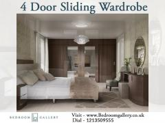 4 Door Sliding Wardrobe By Bedroom Gallery