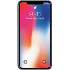 Apple - iPhone X 256GB - Space Gray AT&T yyy
