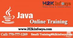 Java Online Training with Job Assistance  By H2kinfosys