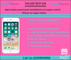 iPhone se repair services in oxford