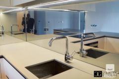 Designer Kitchen Glass Splashbacks & Worktops for Sale