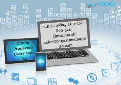 Oracle Primavera Users Email List in UK