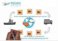 Oracle Transportation Management Users Email List in UK