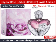 Crystal Rose Ladies 50ml EDP Swiss Arabian