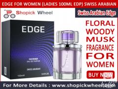 Edge for Women Ladies 100ml EDP Swiss Arabian