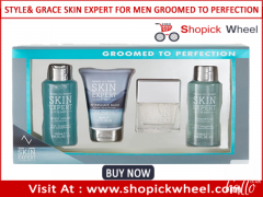 Style & Grace Skin Expert For Men Groomed To Perfection