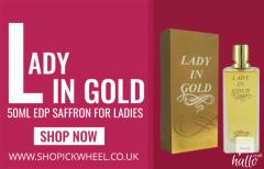 Lady in Gold Ladies 50ml EDP Saffron