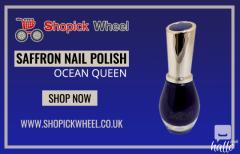 Saffron Nail Polish 53 Ocean Queen  Cheap Online Cosme