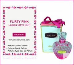 Flirty Pink Ladies 90ml EDP Saffron