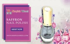 Shopick Wheel - Saffron Nail Polish
