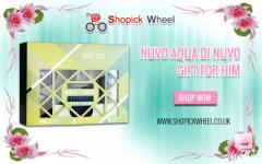 Nuvo Aqua Di Nuvo for Him Mens 3 Piece EDT Gift Set