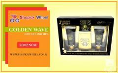 Lamis Golden Wave 3 Piece Gift Set For Mens